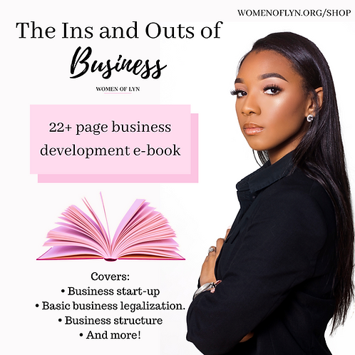 The Ins and Outs of Business: The E-Book