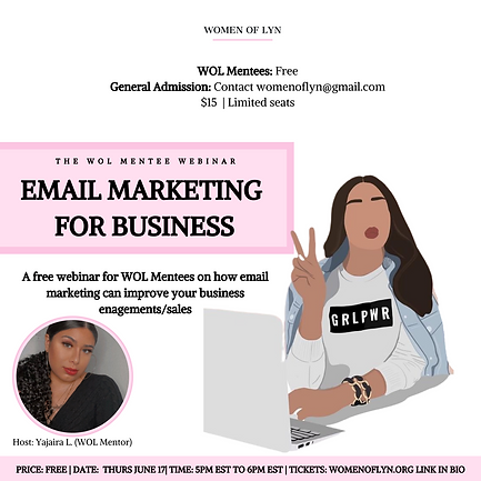 Email Marketing For Business (Host: Yajaira L.)