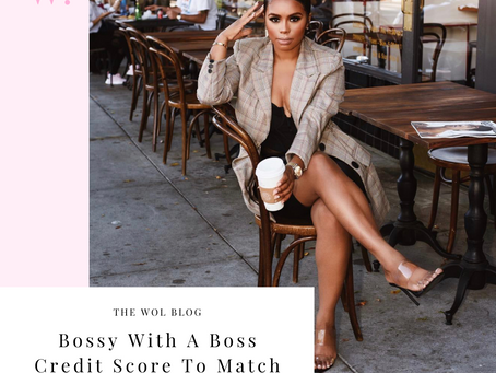 Bossy With A Boss Credit Score To Match by Alexis Davis