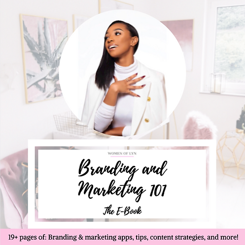 Branding and Marketing 101: The E-Book