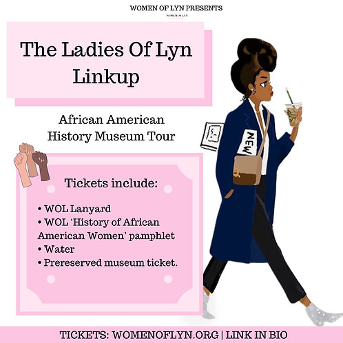 The Ladies of Lyn Linkup: African American History Museum Tour