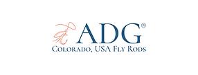 ADG Flyfishing Titanium Fly Rod Logo