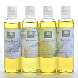 Organic Massage Oil Grapefruit Mint