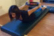 Lezione di pilates individuale su tappetino (mat)