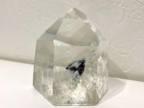 六角柱水晶(75mm×53mm×80mm), 406g