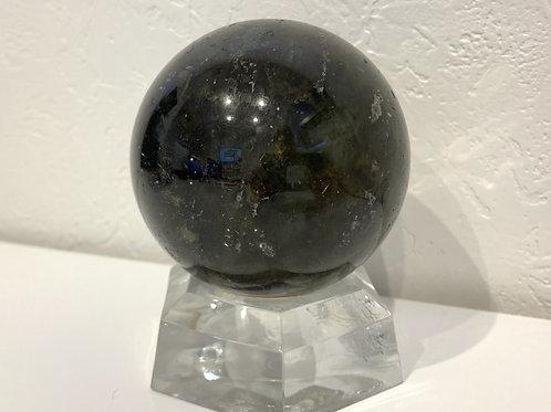 ラブラドライト[直径68mm, 6.8cm], 542g