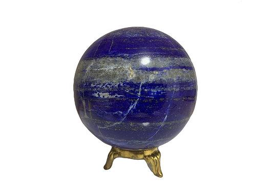 ラピスラズリ(直径92mm, 9.2cm), 1230g