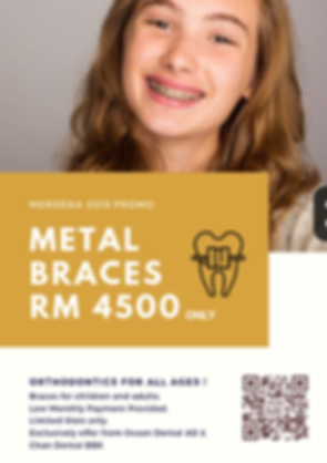 The Earth Dental Braces Promotion.png