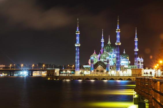 Christal Mosque, Kuala Terengganu