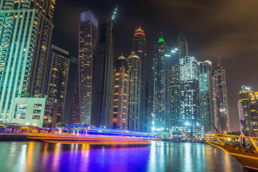 Dubaï Marina. 2017