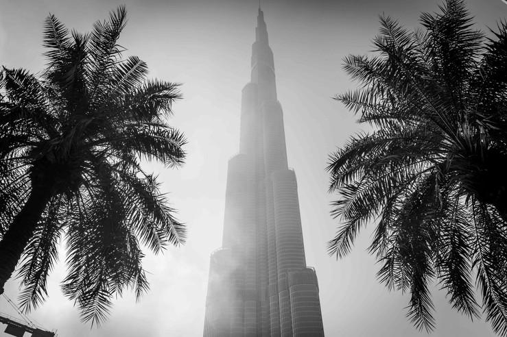 Burj Khalifa, Dubaï. 2017