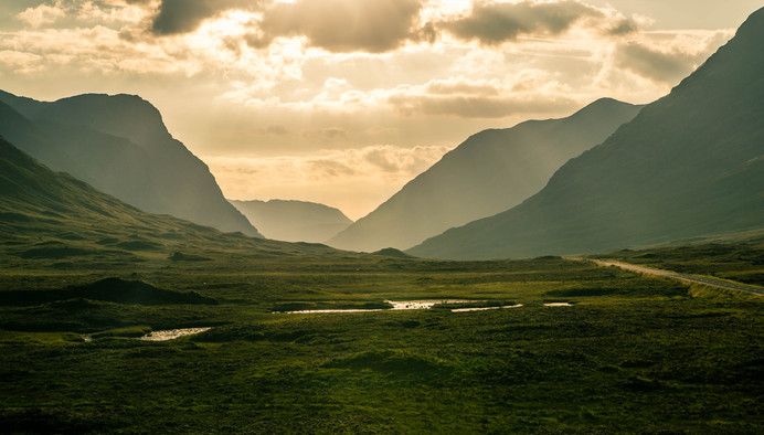 Highlands of Scotland. 2016
