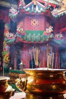 Buddhist temple. Kuala Lumpur. Malaysia. 201