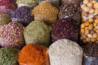 Spices at Old Dubaï Sook
