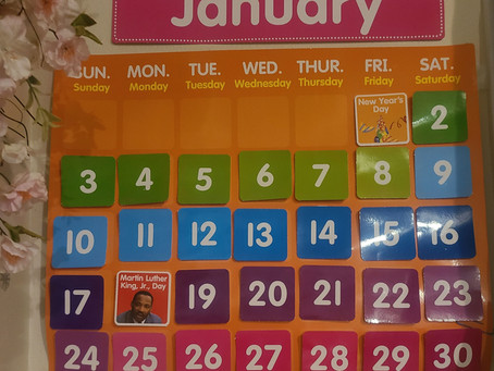 It's January ! Planning During A Pandemic