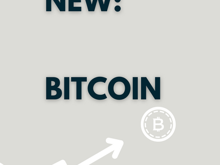 I learned something new: Bitcoin.