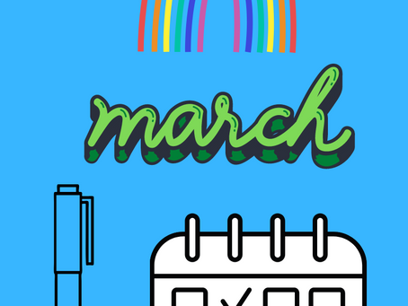Planning for March