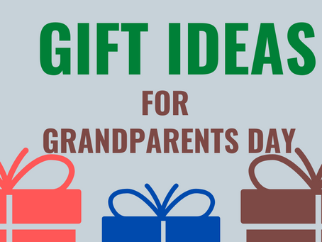 Gift Ideas for Grandparents' Day