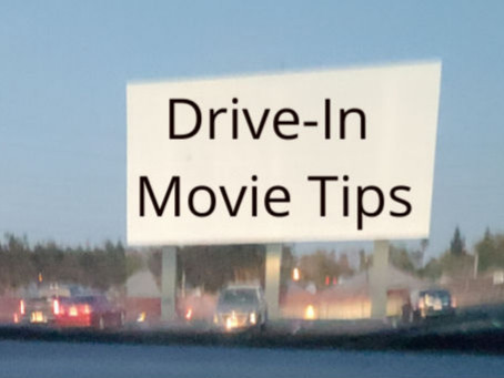 Drive In Movie with Kids - TIPS