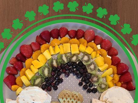 Healthy St. Patrick's Day Breakfast Board