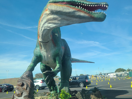 Jurassic Quest Drive Thru Experience Review