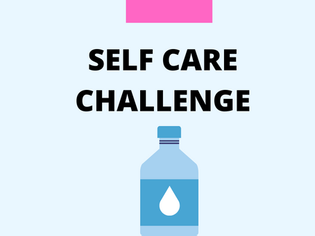Self Care - Water Drinking Challenge