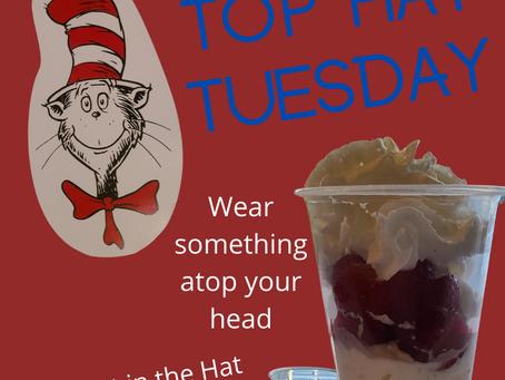 Dr. Seuss Week - Top Hat Tuesday