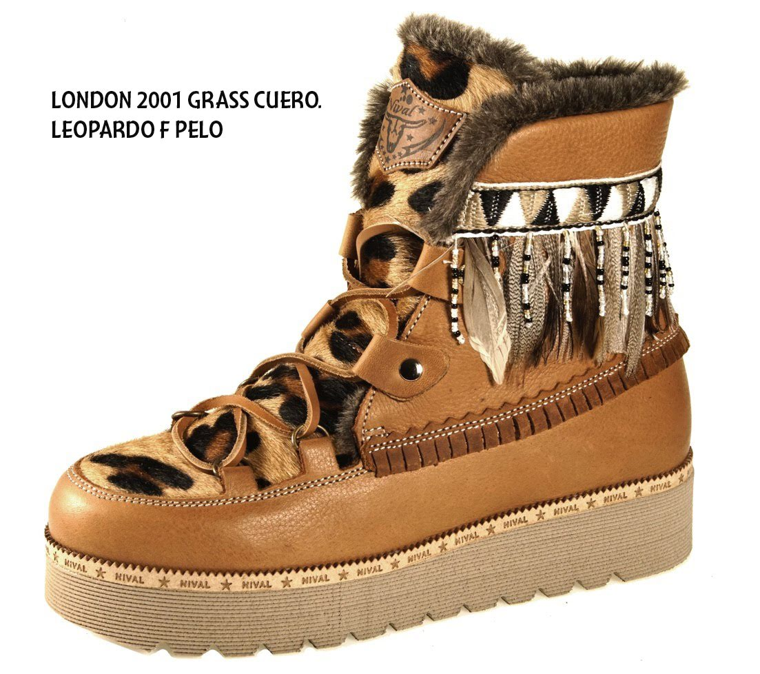 LONDON2001 GRASS CUERO LEOPARDO F. PELO