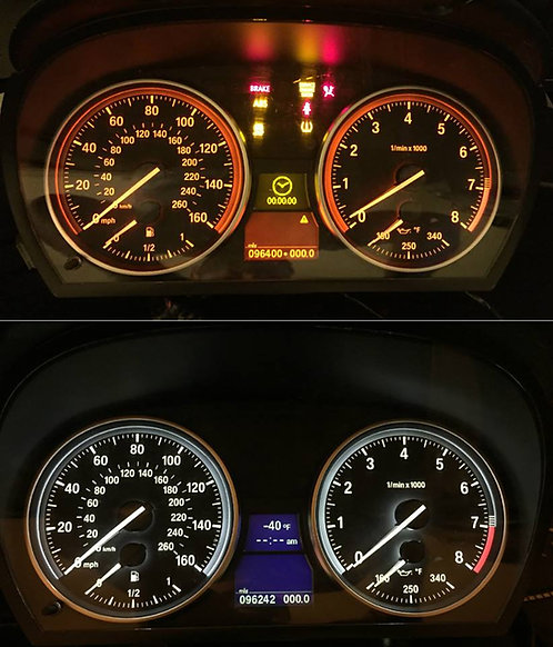 Instrument Cluster Background Color Change..