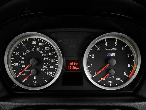 E9X, E8X and E6X M Instrument Cluster Retrofit for E9X - E8X Non-M Cars