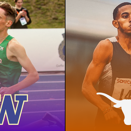 SIGNED: Texas Lands 1:46 Runner Yusuf Bizimana, Washington Adds 4:00 Miler Brian Fay For Next Fall
