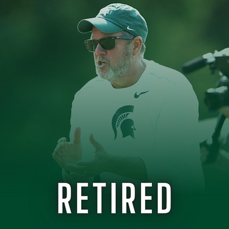 ANNOUNCED: Michigan State Coach Walt Drenth Announces Retirement