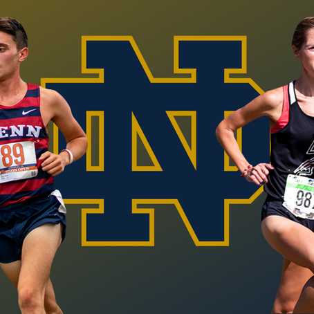 GRAD TRANSFERS: Lauren Bailey & Anthony Russo to Finish Eligibility at Notre Dame Starting Next Fall