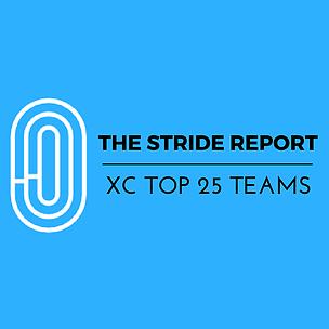 UPDATED XC Top 25 Teams: Week 2 (9/12)