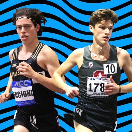 2021 D1 Outdoor Top 25 Rankings (Men): Update #2