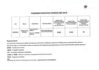 Passeio-Convívio Concelhio 2018