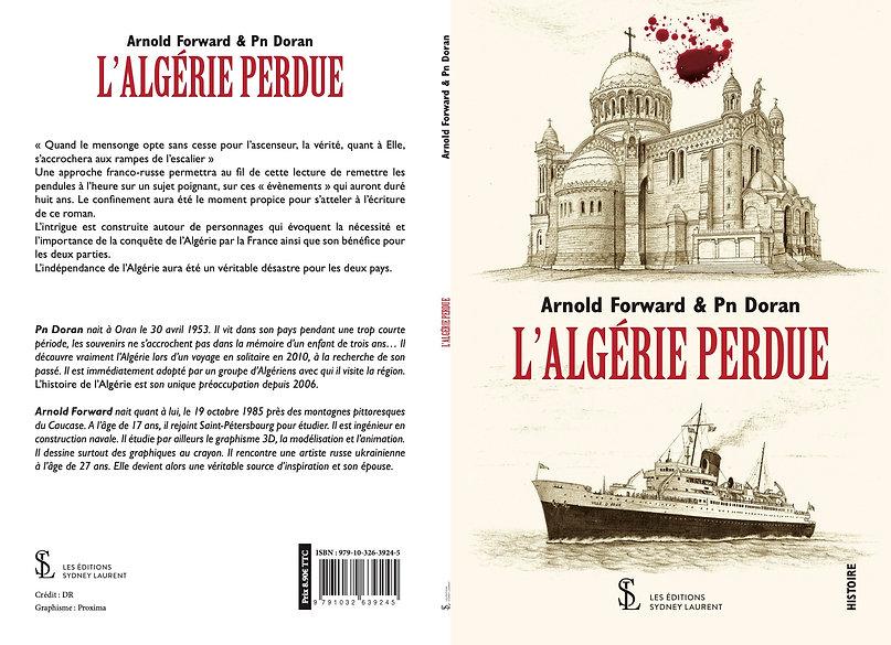 COUVERTURE FORWARD DORAN - ALGERIE PERDU