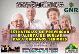 Sessão Pública dirigida aos cidadãos séniores
