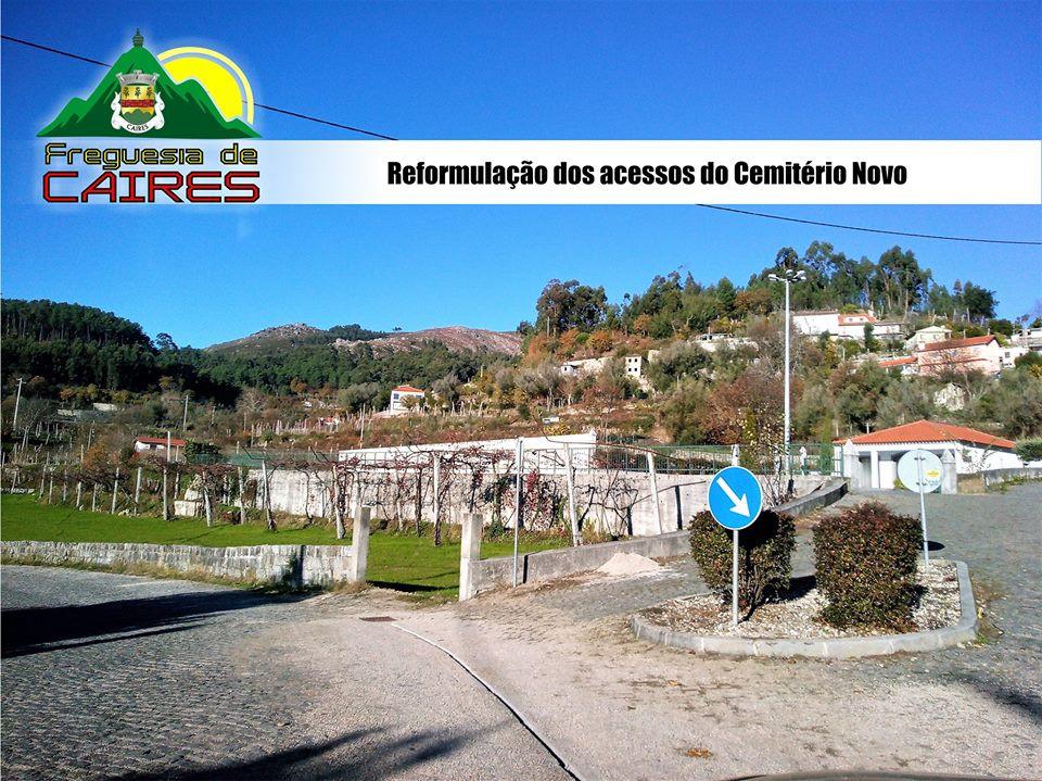 Reformulação dos acessos do Cemitério Novo