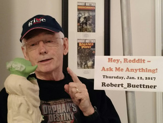 On Thursday, January 12, You Asked Me Anything on reddit.com...200 times, for 16 hours! And you stil