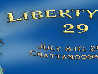 Author Guest at LibertyCon in Chattanooga, TN