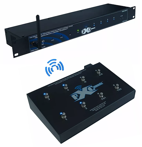 SP8X: WIRELESS EFFECTS PEDALS & AMPLIFIER CONTROL SYSTEM