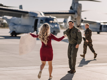 So You Want to Photograph a Military Homecoming...
