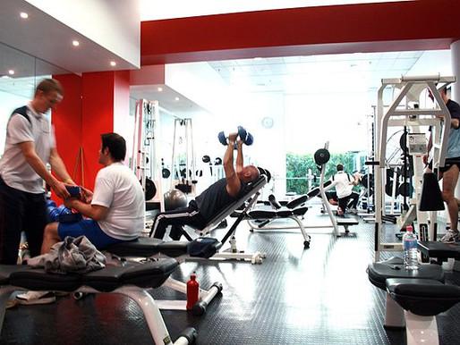 Jeg oppsøkte et treningssenter i går…