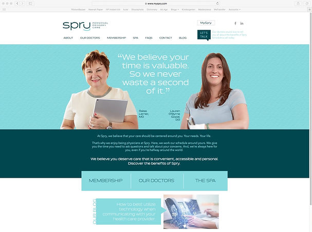 Spry Home Page