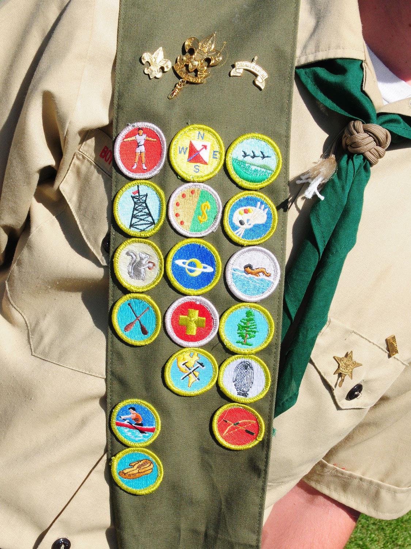 Boy/Girl Scout Badges