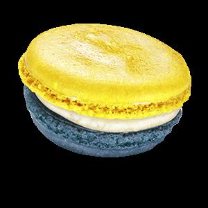 Lemon Blueberry Macaron