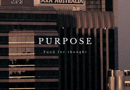 Purpose.