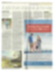 recorte periodico London Evening Standard sobre TeverAstur