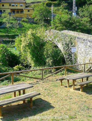Senda del Oso puente romano